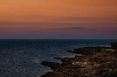 Sonnenuntergang am Lacken Strand